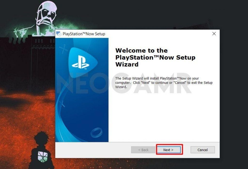 Downloading PlayStation Now