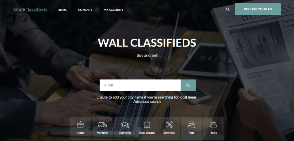 Wall Classifieds