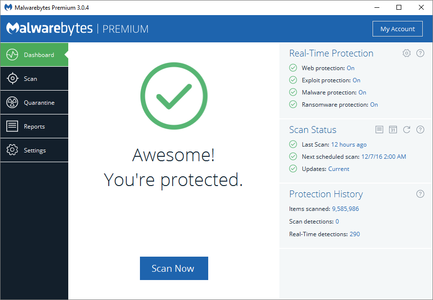 Scan Your PC for Malware