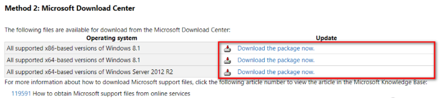 Installing KB3173424 and KB3172614